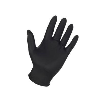 Gants de protection en nitrile noir